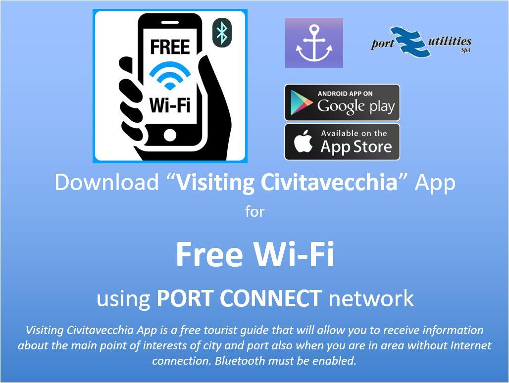 Arriva l'app Visiting Civitavecchia
